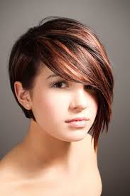 hairstyles short one sie longer than other edgy trendy short hairstyles side longer