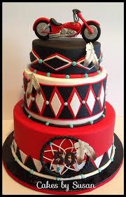 american indian motorcycle cake biker birthday pinterest
