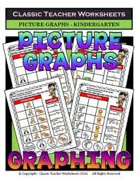 graphing picture graphs kindergarten worksheets test
