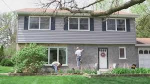 cool staining exterior brick house design decor fancy under