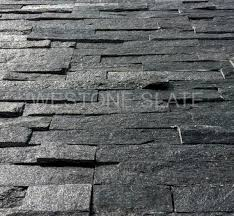 New Stone Veneer Panels For by Black Quartz Ledgestone Veneer Panels Stacked Stone U2013 Westone Slate