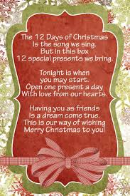 48 best 12 days of christmas images on pinterest christmas gift