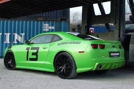 green camaro ss geiger cars goes green with a tuned camaro ss lsx magazine