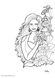 woman coloring pages woman coloring page best coloring pages 2017