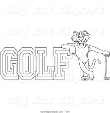 royalty free wildcat character stock big cat designs