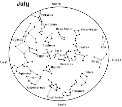 printable star constellation map cosmos star maps of the constellations as seen in the northern