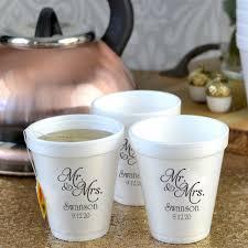 styrofoam cups wedding cups 8 oz styrofoam personalized