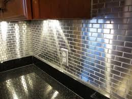 Metal Tile Backsplashes Hgtv Metal Tile Backsplash Lowes Metal - Metal tiles backsplash