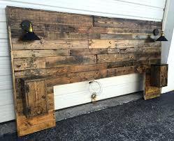 Reclaimed Wood Headboard Reclaimed Wood Headboard King Diy Rustic Headboard Standard Wood