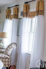 Window Sheer Curtains How To Update Sheer Curtains An Easy Diy Stonegable