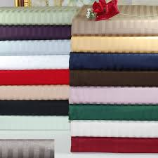 superior 300 thread count long staple combed cotton stripe sheet