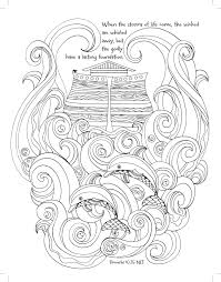 noah ark coloring page amazon com noah u0027s ark coloring the great flood majestic