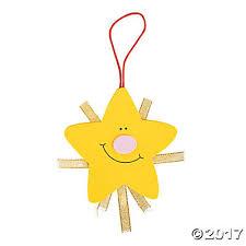 nativity star christmas ornament craft kit
