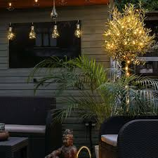 warm white outdoor fairy lights outdoor copper wire micro battery fairy lights 50 warm white leds
