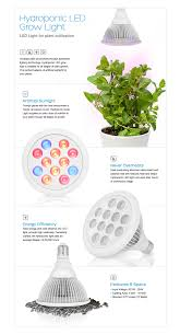 sandalwood led grow light for hydroponic garden and greenhouse use