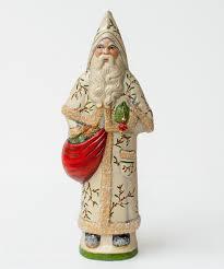 santa in white vine coat by vaillancourt folk