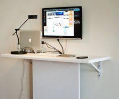 Floating Computer Desk Ikea Diy Project Make Your Own Floating Computer Desk Using