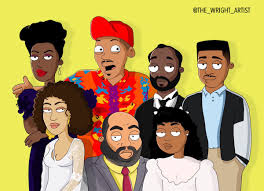 wrightartist on the fresh prince cast in a family