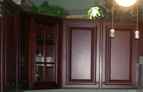Painted Or Stained Kitchen Cabinets Painting Stained Kitchen Cabinets On 600x408 Paint Or Stain