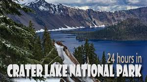 24 hours in oregon s crater lake national park