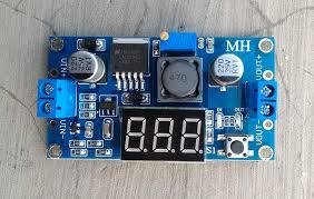 Jual Dc toko jual modul step lm2596 dc dc 3a display murah