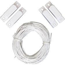 garage door sensor wire ideal security wire contact sensor kit sk619 the home depot