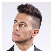mens short haircuts with beards as well as hairstyle for round