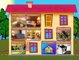 rooms in the house la casa house www onlinefreespanish com