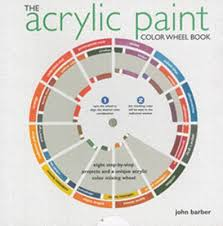 the acrylic paint colorwheel book eight step by step projects and