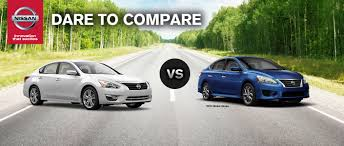 nissan altima 2015 manual 2015 nissan altima vs 2015 nissan sentra