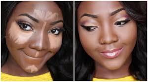 Makeup Contour uwani aliyu foundation contour and highlight makeup tutorial