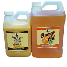 Wood Cleaner For Kitchen Cabinets by Amazon Com Howard Feed N Wax 1 2 Gallon And Howard Orange Oil