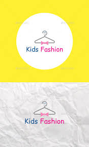 design templates logo fashion logo kids fashion logo template by rainbowgraphic graphicriver