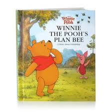 recordable books winnie the pooh s plan bee hallmark recordable book by hallmark
