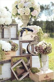 Outdoor Backyard Wedding Rustic Outdoor Wedding Decoration Ideas Trends All White Rustic