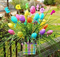 Easter Decorations For Home Easter Decorating Ideas Outdoor Easter Decoration Table Decor