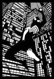 spiderman black costume jeffwelborn deviantart
