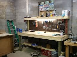 garage workbench garage workbench with shelves amazing images