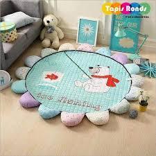 tapis chambre bébé ᐅ tapis enfant tapis chambre bébé dessin ours achat vente