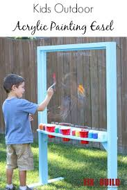 Kid Woodworking Projects Free by Easels And Chalkboards At Woodworkersworkshop Com