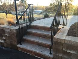 Curved Handrail Colonial Iron Works Iron Exterior Handrails