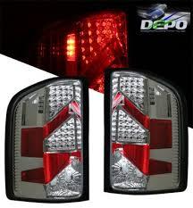 2007 chevy silverado tail lights chevy silverado 2007 2013 led tail lights depo chrome a102bnmo109