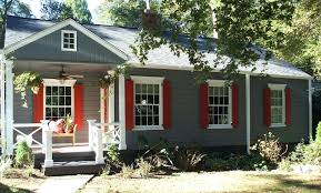 painted houses small house exterior paint colorsexterior color schemes red brick