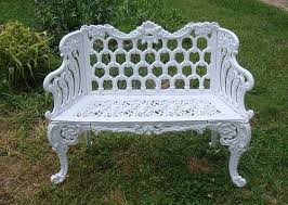 Cast Iron Loveseat Antique Garden Furnishings And Framed Antique Prints Online