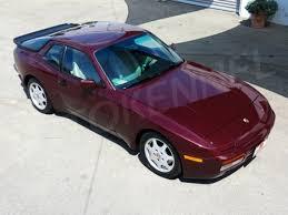 1989 porsche 944 value 1988 porsche 944 turbo s with 39 000 german cars for sale