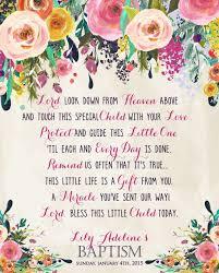 good poem for baptism page too baby shower prayer cards feel