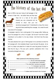 the history of the dog worksheet free esl printable