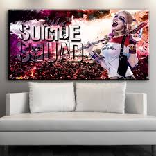 Harley Home Decor Online Buy Wholesale Harley Quinn Movie Poster From China Harley