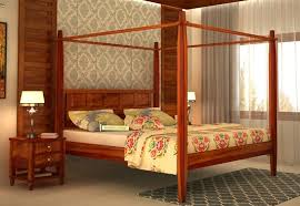 four poster beds upto 60 off buy poster bed online india