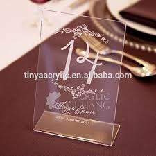 acrylic table numbers wedding acrylic table numbers acrylic table numbers suppliers and